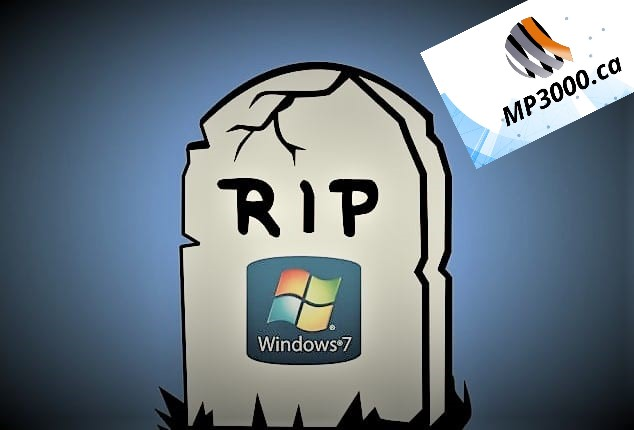 ATTENTION Le 14 janvier 2020, sonnera le glas pour Windows 7!!!