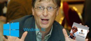 Windows 10 Mr Gates PDG de Microsoft admet que son systeme pose un serieux problème