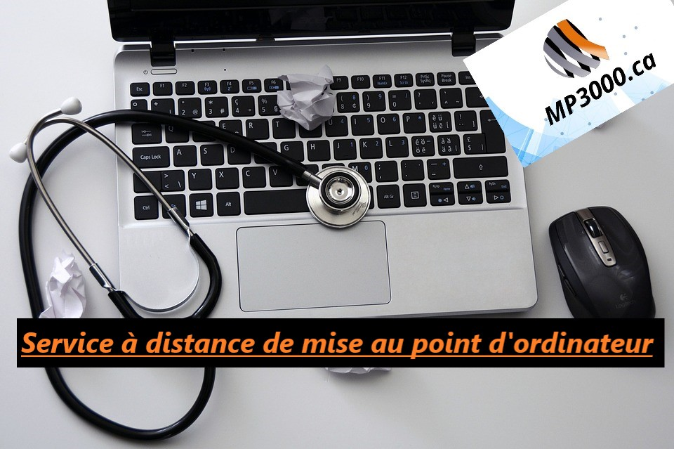 Service à distance de mise au point d'ordinateur